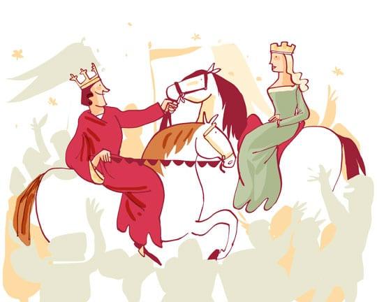 el-rey-y-la-princesa-cristina-de-noruega- España Fascinante