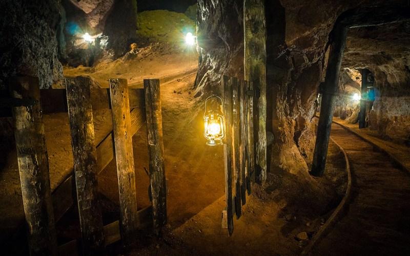 Mina Esperanza. una de las minas visitables de España