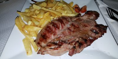 comer carne isla canela restaurante minutero