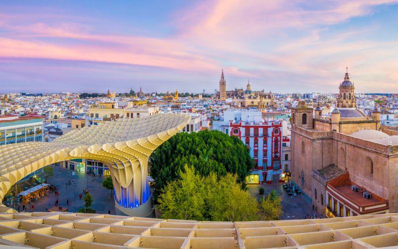 Miradores de las Setas de Sevilla