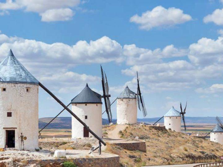 Descubrimos los molinos de viento: «¡Que no son gigantes, mi señor!»