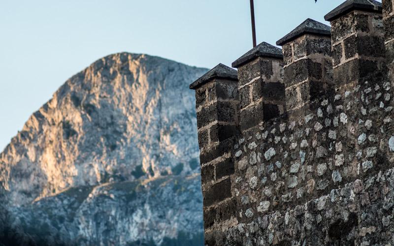 Montaña Sierra de Tramuntana desde Fornalutx