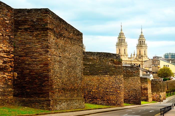Más murallas romanas de Lugo, monumento romano en España