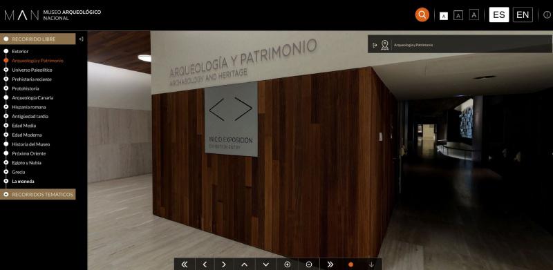 Visita Virtual del Museo Arqueológico Nacional