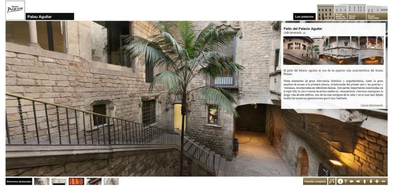 Visita Virtual del Museo Picasso Barcelona