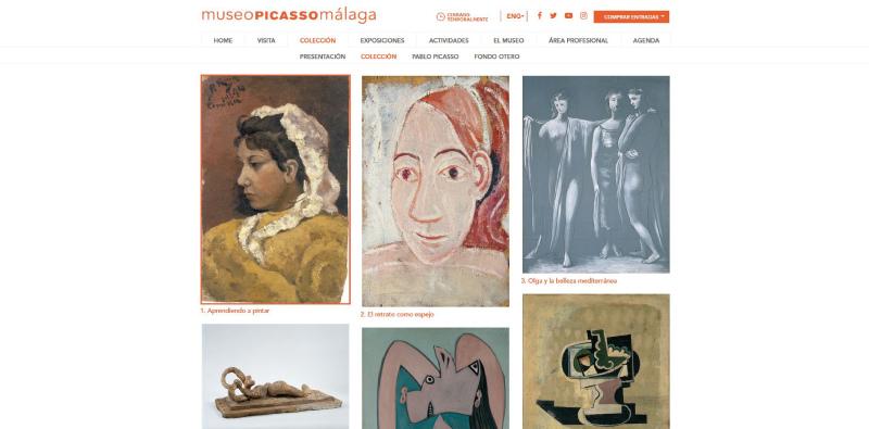 Visita virtual a la colección del Museo Picasso de Málaga