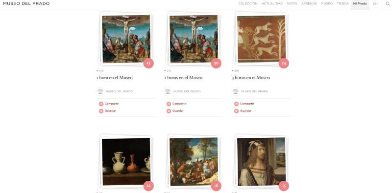 Visita Virtual del Museo Nacional del Prado