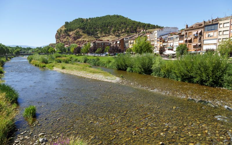 Nájera y río Najerilla