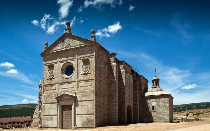 Navas del Marqués, Ávila, restos del Convento de Santo Domingo y San Pablo