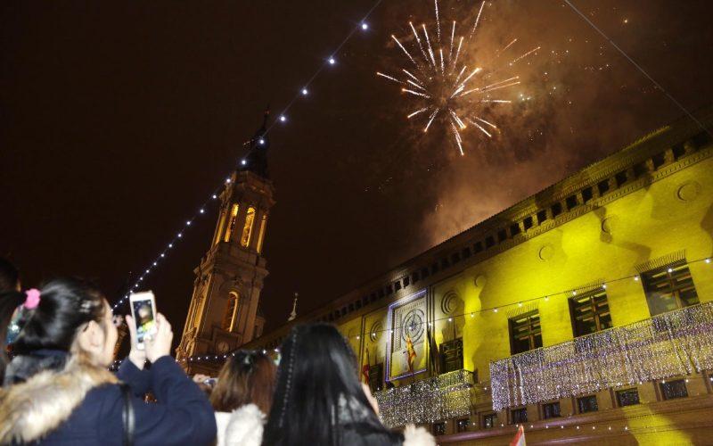 Nochevieja en el Pilar de Zaragoza