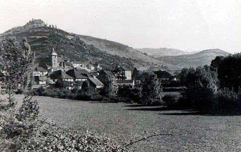 Vista antigua de Ochagavía