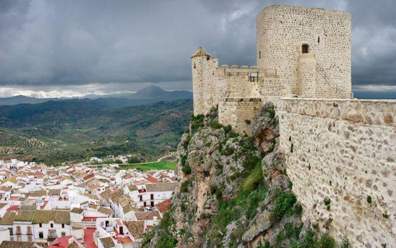 Castillo árabe de Olvera