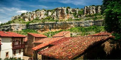 Panorámica Orbaneja del Castillo