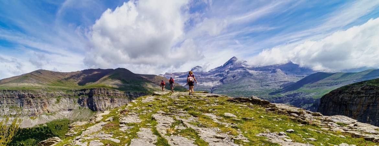 Parque de Ordesa y Monte Perdido en los Pirineos