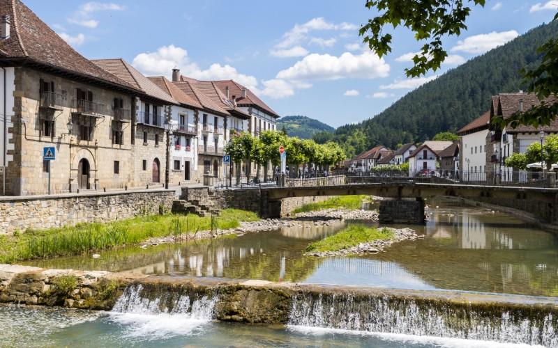 Otsagabia es una de las villas más interesantes de Navarra