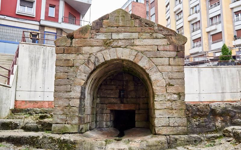 Fuente de Foncalada en Oviedo
