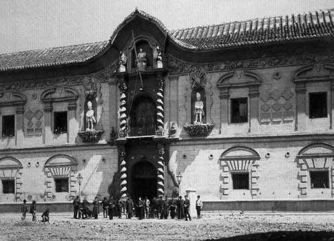 Palacio Bibataubin foto antigua