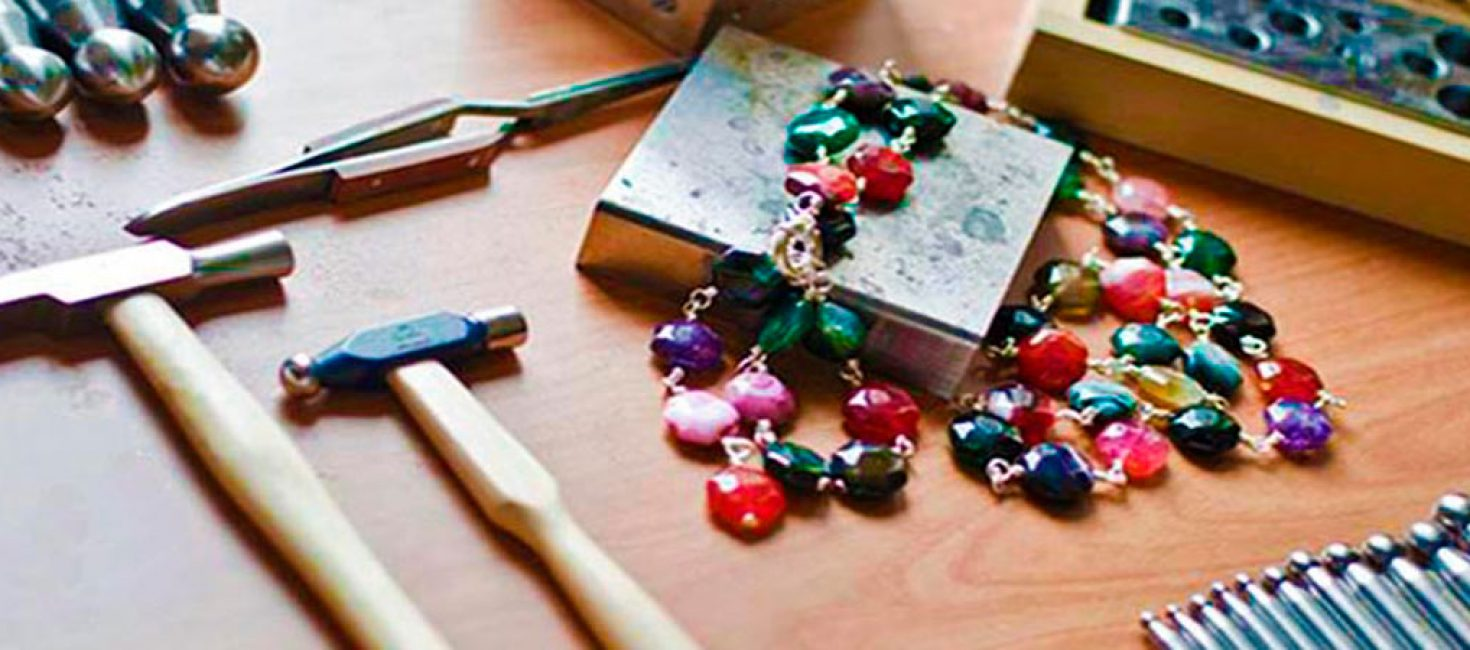 Handcrafted jewelry by Mabe Abenza