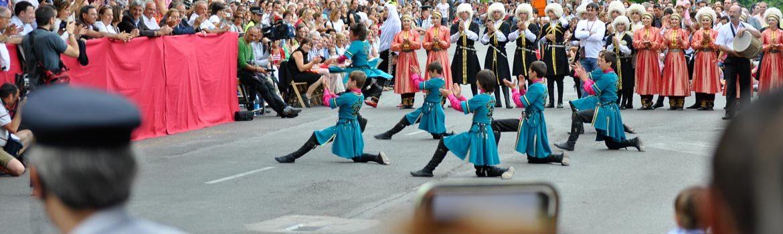 Festival Folclórico de los Pirineos