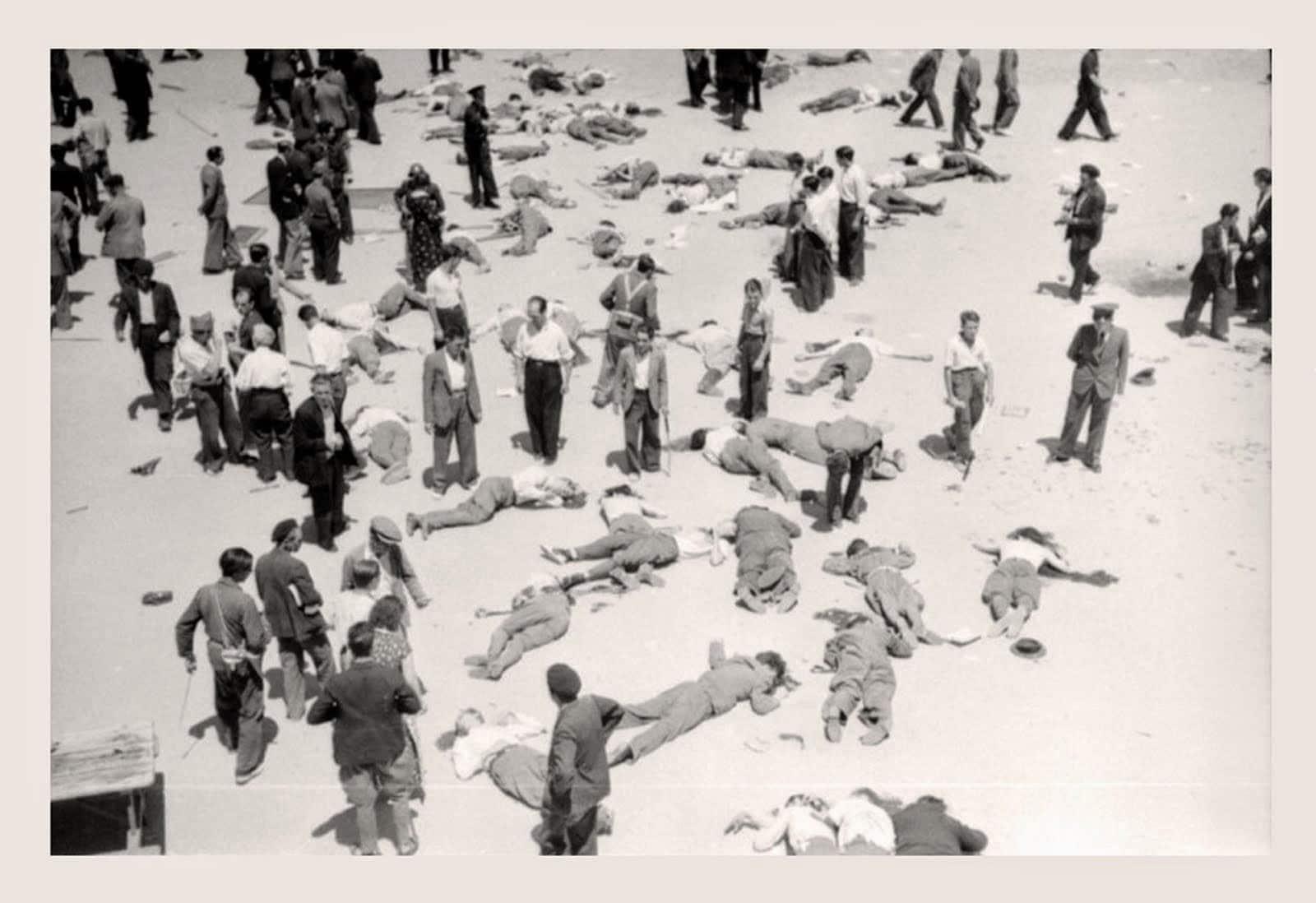 Fusilados asalto Cuartel Montana