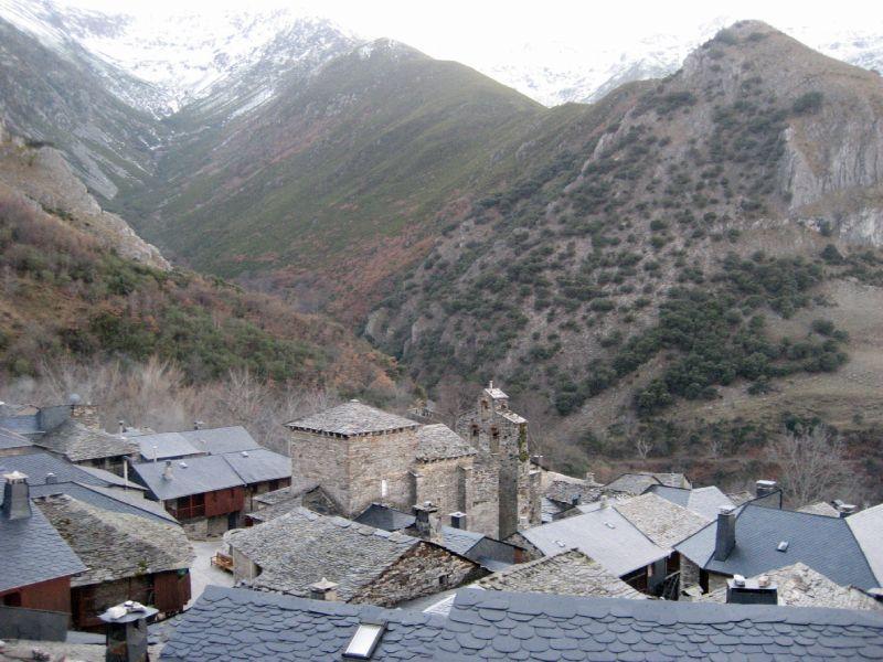 Peñalba de Santiago en invierno
