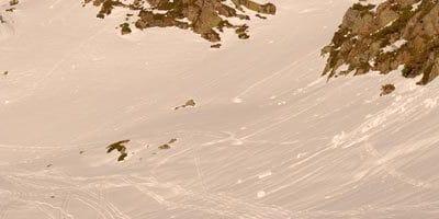 Pista de esqui tavascan