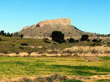 Pitón Volcánico de Cancarix y Saladar de Agramón