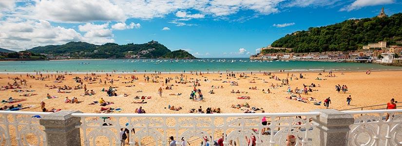 playa concha san sebastian