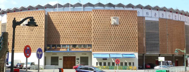 Plaza de toros Vista Alegre en Bilbao