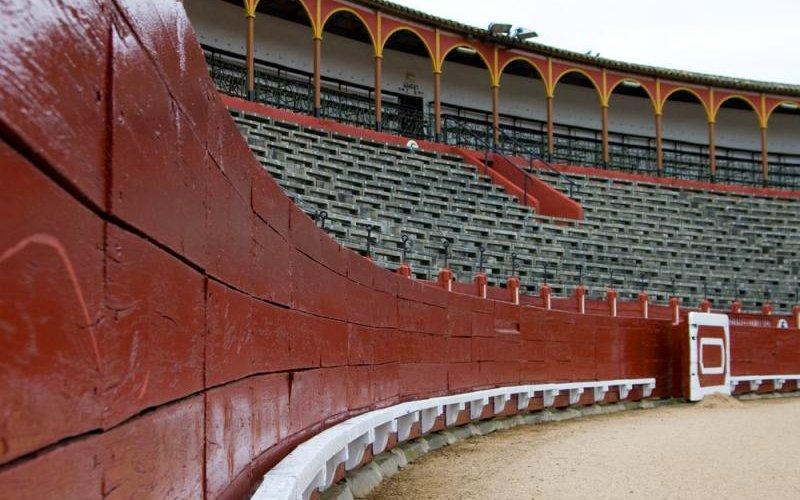 Interior de la plaza de toros de Toledo