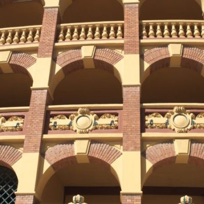 La plaza de toros de la Misericordia en Zaragoza