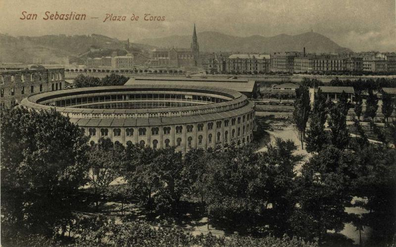 Plaza toros atocha Donostia