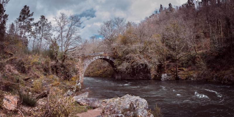 Ponte do Demo, puente del demonio en Silleda