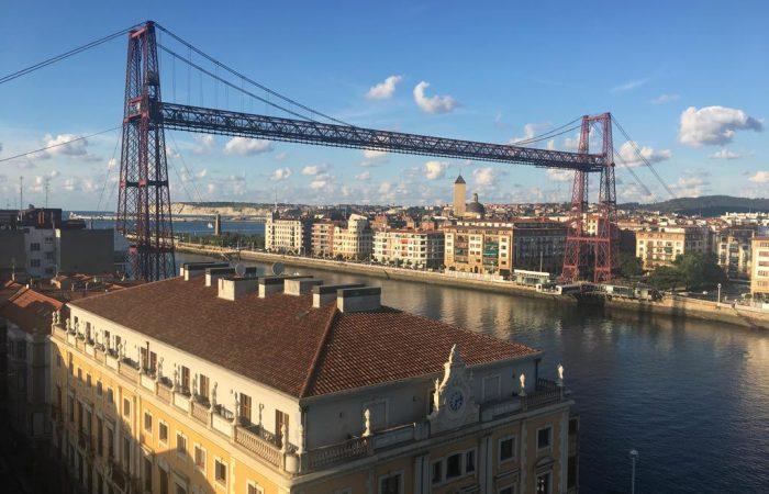 dormir portugalete gran hotel puente colgante