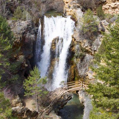Cascada de Calomarde, la gran desconocida de la sierra de Albarracín