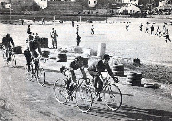 Vista del velódromo de El Guinardó, antes estadio del C.E. Europa