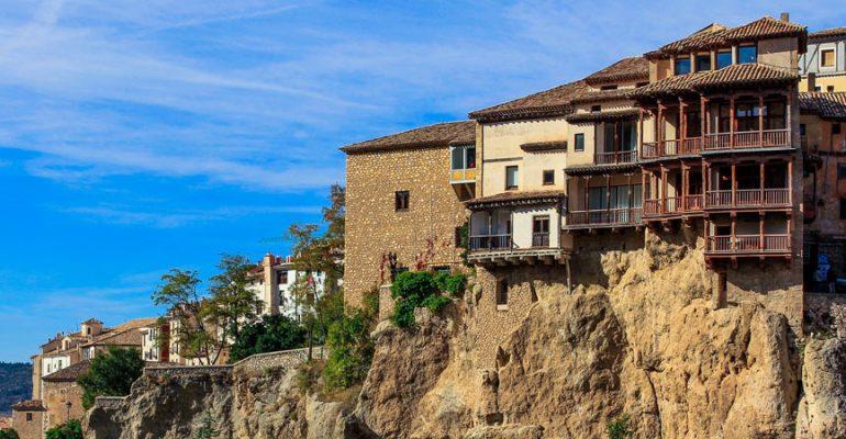 Las históricas casas colgadas de Cuenca