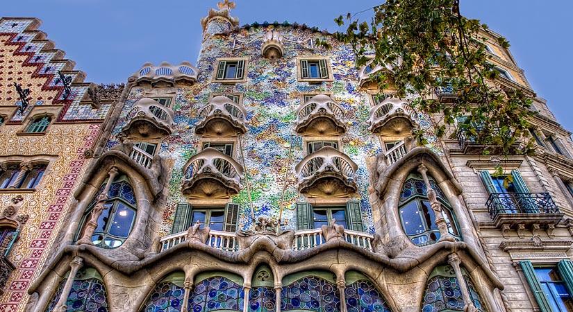 casas modernistas barcelona casa batllo