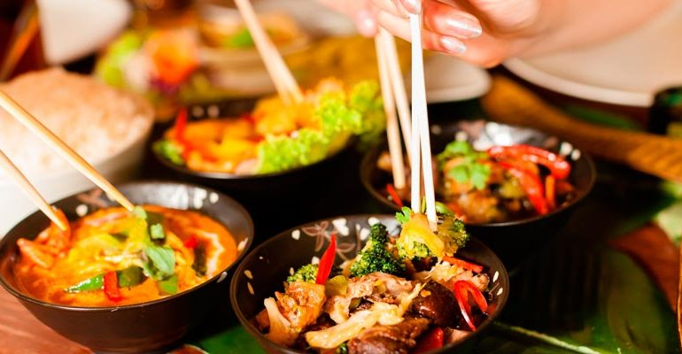 Madrid celebra el año nuevo chino con su gastronomia