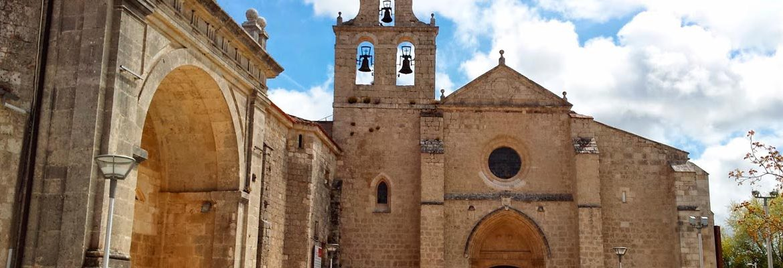 Panorámica del monasterio de San Juan de Ortega