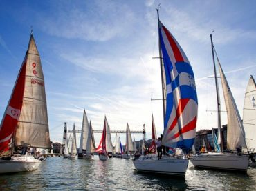 Regata del Gallo en el Real Club Marítimo del Abra
