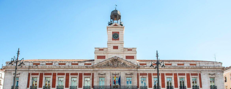 reloj de Puerta del Sol