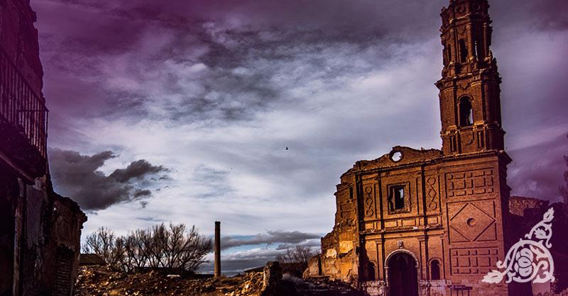 Rincones encantados: Pueblo Viejo de Belchite | España Fascinante