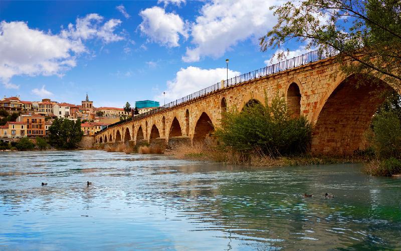 Puente de Piedra en Zamora