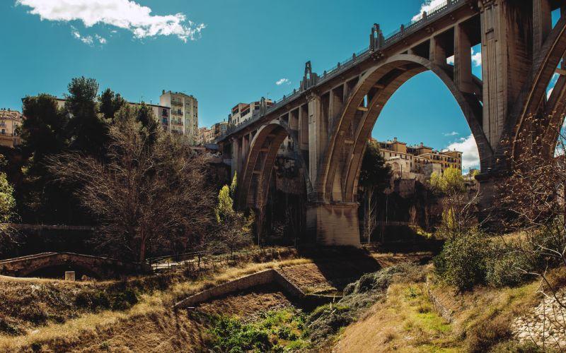 Puente de Sant Jordi en Alcoy