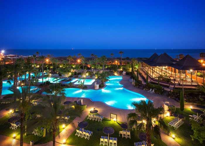 dormir islantilla puerto antilla grand hotel