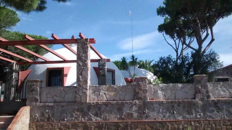 Casas del Ingeniero o iglús en Puerto Real
