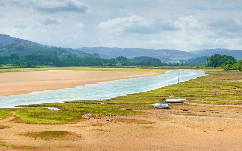 Ría de Villaviciosa en la A-8