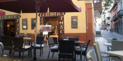 Comer Santa Cruz Tenerife restaurante rebotica