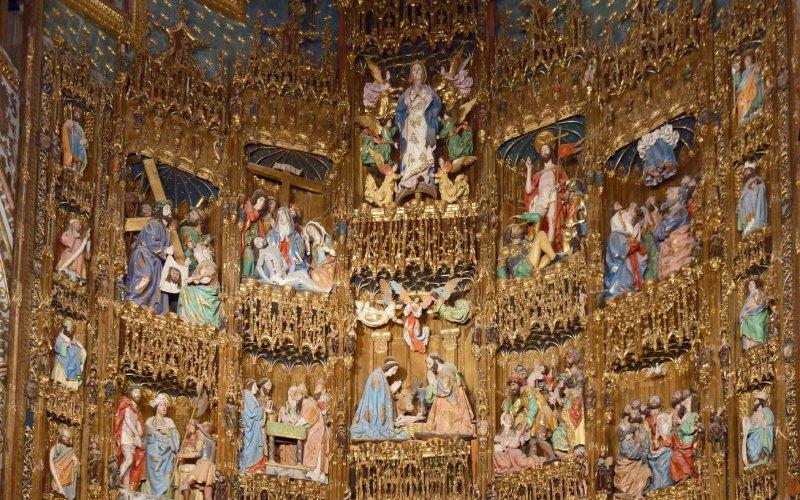 Retablo mayor de la catedral de Toledo
